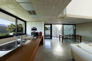 beton dans la maison info