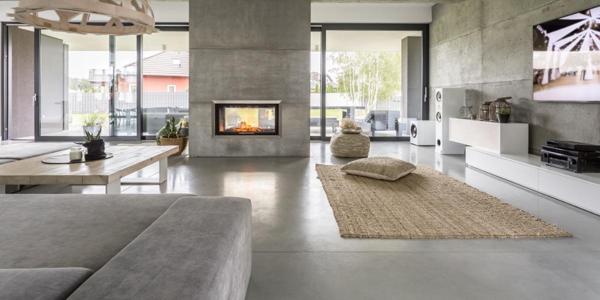 chauffage sol beton