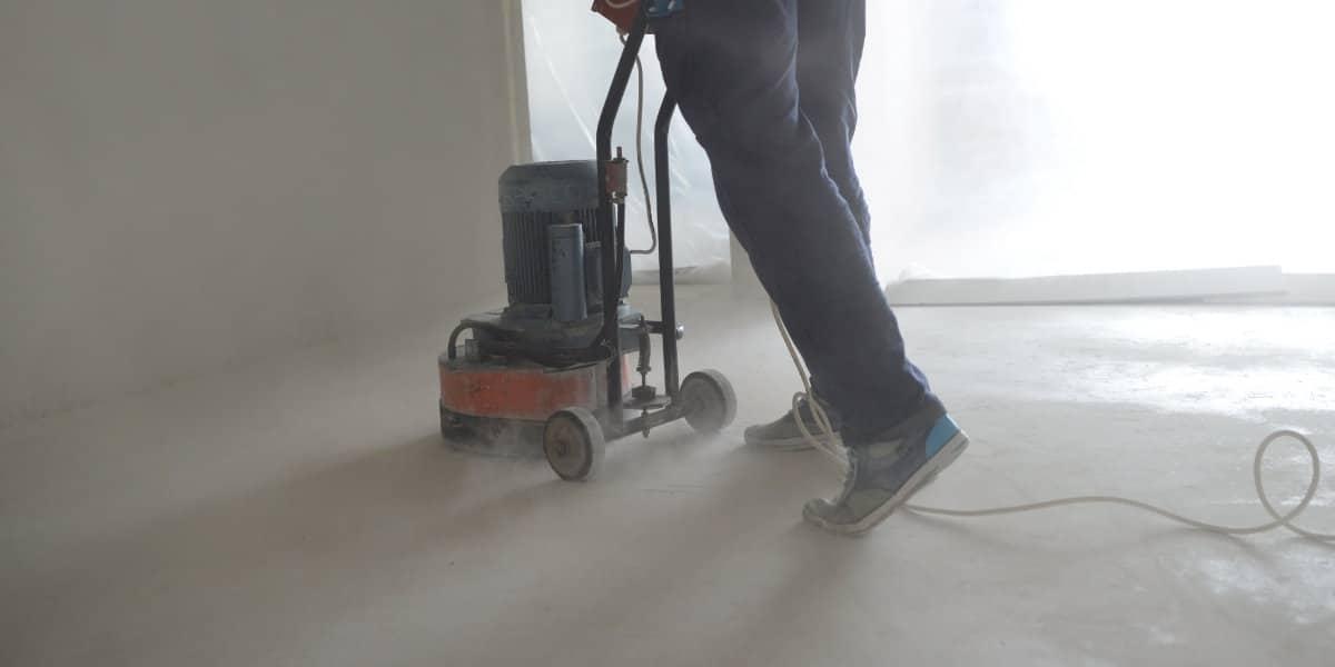 reparation sol beton