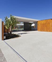 sol en beton desactive exterieur