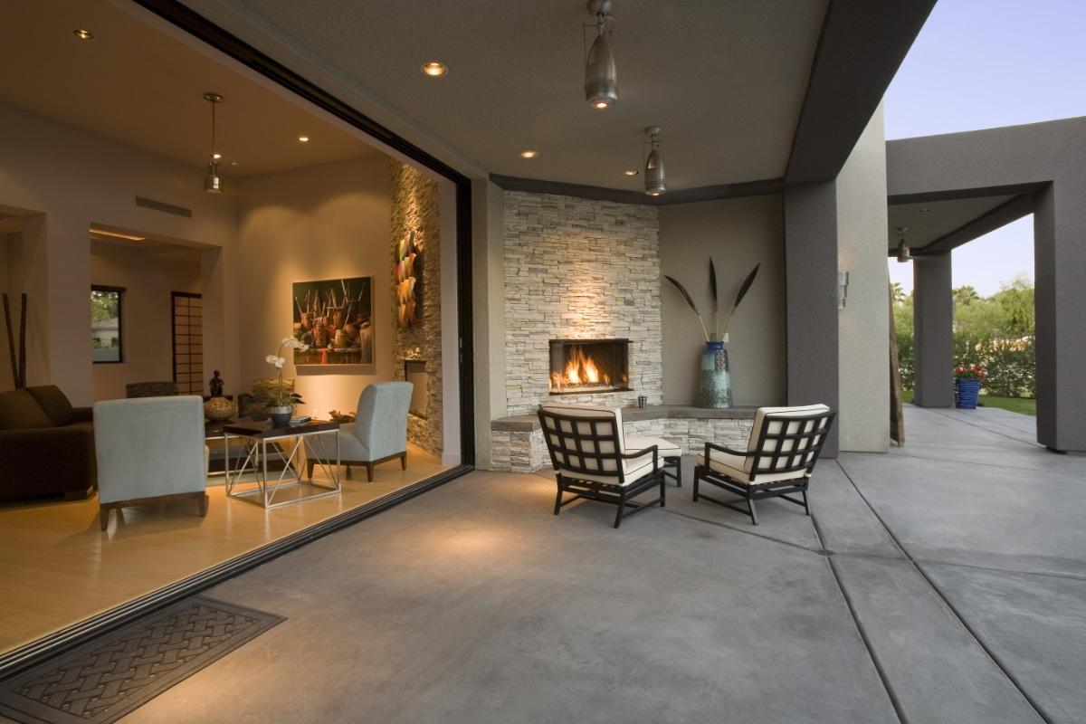 terrasse beton